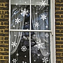 cheap Christmas Home Textiles-Window Film & Stickers Decoration Contemporary Art Deco PVC / Vinyl Window Sticker / Bedroom / Kids Room / Living Room / Shop / Cafe