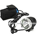 baratos Anéis-Lanternas LED LED 1000 lm 3 Modo LED Com Carregador Recarregável Impermeável Campismo / Escursão / Espeleologismo Uso Diário Ciclismo