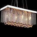 billige Island Lights-6-Light Køkken Ø Lampe Ned Lys - Krystal, 110-120V / 220-240V, Varm Hvid, Pære ikke Inkluderet / 30-40㎡ / E12 / E14