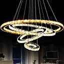 cheap Chandeliers-LightMyself™ Circular Pendant Light Downlight - Crystal, Bulb Included, LED, 110-120V / 220-240V LED Light Source Included / 15-20㎡