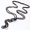 cheap Necklaces-Women's Vintage Necklace - Snake Simple Style, Fashion Blue, Pink, Golden Necklace Jewelry 3pcs For Daily