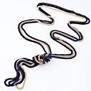 abordables Collares-Mujer Collar vintage - Serpiente Estilo Simple, Moda Azul, Rosa, Dorado Gargantillas 3pcs Para Diario