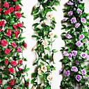 preiswerte Künstliche Pflanzen-Künstliche Blumen 1 Ast Pastoralen Stil Rosen Tisch-Blumen