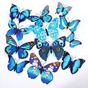cheap Party Headpieces-Wedding Party PVC Mixed Material Wedding Decorations Butterfly Theme / Classic Theme All Seasons