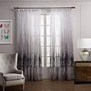 preiswerte Fenstervorhänge-Gardinen Shades Schlafzimmer Polyester Druck