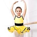 abordables Ropa de Baile para Niños-Ballet Vestidos Licra / Tul Mangas cortas / Desempeño
