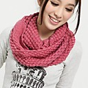 cheap Earrings-Women's Basic Infinity Scarf - Solid Colored