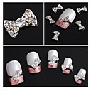 cheap Rhinestone & Decorations-10 pcs Nail Jewelry / Glitter & Poudre Classic / Cartoon / Punk Daily Classic / Cartoon / Punk Lovely / Metal