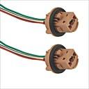 halpa אודיו ווידאו-7443 socket auton lampun kantaa adapteri - 2kpl