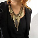 cheap Backpacks-Women's Retro Multi Element Tassel Necklace