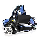 povoljno Cvijeće za vjenčanje-1200 lm lm Svjetiljke za glavu LED 3 Način LS059 - Zoomable / Vodootporno / Podesivi fokus