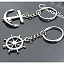cheap Keychain Favors-Classic Theme Keychain Favors Zinc Alloy Keychains-Piece/Set