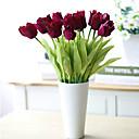 baratos Flor artificiali-Flores artificiais 3 Ramo Estilo Moderno Tulipas Flor de Mesa