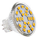 billige LED-lyspærer-230 lm GU4(MR11) LED-spotpærer 24 leds SMD 2835 Varm hvit Kjølig hvit AC 12V