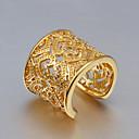 זול Fashion Ring-בגדי ריקוד נשים טבעת הטבעת טבעת אגודל קריסטל זהב Gold / ורוד רוז גולד כסף סטרלינג זירקון צִיצִית וינטאג' אופנתי חתונה Party תכשיטים חמוד / ציפוי זהב / כסוף / ציפוי זהב