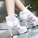 abordables Accesorios para  Zapatos-2pcs Gel Cubrezapatos Mujer Todas las Temporadas Casual Blanco