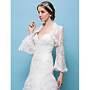 cheap Wedding Wraps-Lace Wedding / Party Evening Wedding  Wraps With Shrugs
