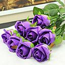 baratos Flor artificiali-Flores artificiais 2 Ramo buquês de Noiva Rosas Flor de Mesa