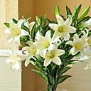cheap Artificial Flower-Artificial Flowers 1 Branch European Style Lilies Tabletop Flower