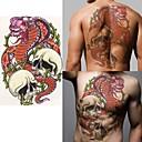 baratos Tatuagens Temporárias-Etiqueta do tatuagem Corpo / ombro / de volta Tatuagens temporárias 1 pcs Séries Animal / Série dos desenhos animados Amiga-do-Ambiente / Alta qualidade, livre de formaldeído Arte para o Corpo