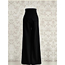 baratos Sandálias Femininas-Mulheres Vintage Perna larga Jeans Calças - Sólido
