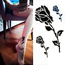 preiswerte Tattoo-Aufkleber-1 pcs Tattoo Aufkleber Temporary Tattoos Blumen Serie Wegwerfbar / Hohe Qualität, formaldehydfrei Körperkunst Hände / Knöchel