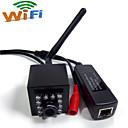 olcso CCTV kamerák-hqcam® 720p poe wifi és ip kamera beltéri rejtett 940nm ir vezeték nélküli wifi ip kamera tűcsúcs legkisebb éjjellátó