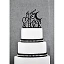 preiswerte Tortenfiguren & Dekoration-Tortenfiguren & Dekoration Garten Acryl Hochzeit Jahrestag Brautparty mit 1 OPP