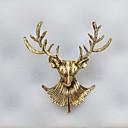 abordables Brazaletes para Hombre-Dorado Gemelos Elegante / Diseño Hombre Joyería de disfraz Para Oficina / Carrera