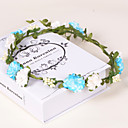 cheap Party Headpieces-Crystal Fabric Plastic Paper Tiaras Wreaths 1 Wedding Special Occasion Party / Evening Casual Office & Career Outdoor Headpiece