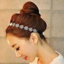 hesapli LED Ampuller-Kristal / Kumaş - Tiaras / Headbands 1 Düğün / Parti / Gece / Günlük Başlık