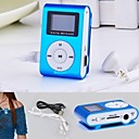 cheap MP3 player-8G Mp3 Mini Lettore Clip USB LCD Screen Rechargeable Radio Player