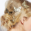 cheap Hair Jewelry-Women's Elegant Alloy Hair Clip Flower / Hairpins / Hairpins
