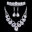 cheap Jewelry Sets-Women's Others Jewelry Set Earrings / Necklace / Tiaras - Regular For Wedding / Party / Special Occasion