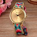 ieftine Ceasuri La Modă-Pentru femei Ceas de Mână Coarda braided Material Bandă Boem / Modă Multicolor / Un an / SODA AG4