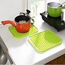 preiswerte Küchengeräte-Küchengeräte Kunststoff Waermeisolierten Topflappen & Ofenhandschuh Für Kochutensilien 1pc