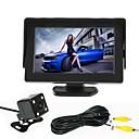 olcso Tolatókamera-renepai® 4,3 hüvelykes monitor + 170 ° hd autó tolatókamera + nagy felbontású, széles látószögű vízálló CMOS kamera