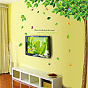 abordables Adhesivos de Pared-Animales Caricatura Botánico Pegatinas de pared Calcomanías de Aviones para Pared Calcomanías Decorativas de Pared, Vinilo Decoración