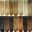 cheap Synthetic Extensions-Clip In/On Hair Piece Hair Extension Daily