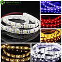 voordelige LED-stripverlichting-1m Flexibele LED-verlichtingsstrips 60 LEDs 5050 SMD Warm wit / Wit / Rood Knipbaar / Dimbaar / Koppelbaar 12 V / Geschikt voor voertuigen / Zelfklevend