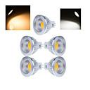 preiswerte LED Leuchtbänder-5 Stück 50-150lm LED Spot Lampen MR16 1 LED-Perlen COB Warmes Weiß / Kühles Weiß 220-240V / RoHs / CCC