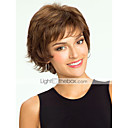 cheap Human Hair Capless Wigs-high quality human hair capless short curly mono top human hair wigs 12 colors to choose