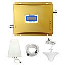 ieftine Sistem Sonerie-lintratek gsm 3g repetor 900MHz 2100 WCDMA dual band semnal de celulă de rapel repetidor airtel / beeline / Digicel / vodafone