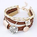 billige Mode Halskæde-Vedhæng - Armbånd (Imiteret Læder) - Dame