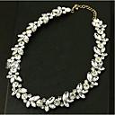 billige Mode Brocher-Dame Krystal Kort halskæde - Simuleret diamant Klassisk, Vintage, Mode Skærmfarve Halskæder Til Bryllup, Speciel Lejlighed, Fødselsdag