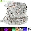 olcso LED sávos fények-SENCART 5 m LED-es szalagfények 300 LED 3528 SMD Meleg fehér / Fehér / Piros Cuttable / Tompítható / Összekapcsolható 12 V / Gépjárműbe / Öntapadós