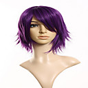 cheap Wall Stickers-cartoon fashion explosion models purple short hair wig