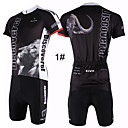 cheap Wall Stickers-ILPALADINO Men's Short Sleeves Cycling Jersey with Shorts - 2# 3# 4# 5# 6# Animal Bike Shorts Jersey Clothing Suits, Quick Dry,