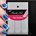 hesapli Tırnak Stickerları-Tırnak Boyama Araçları Uyumluluk Parmak Tırnağı tırnak sanatı Manikür pedikür Klasik Günlük