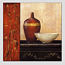 cheap Oil Paintings-Print Rolled Canvas - Still Life Modern European Style
